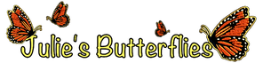 JULIE'S BUTTERFLIES